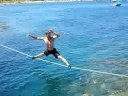 Slackline, Waterline, Cte d'Azur