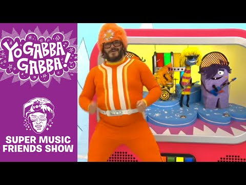 THE YO DAZZLERZ - You cant always get what you want - Yo Gabba Gabba
