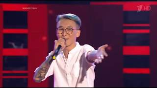 PSY - GANGNAM STYLE  (Yuri Pak)   The Voice of Russia   Blind Audition