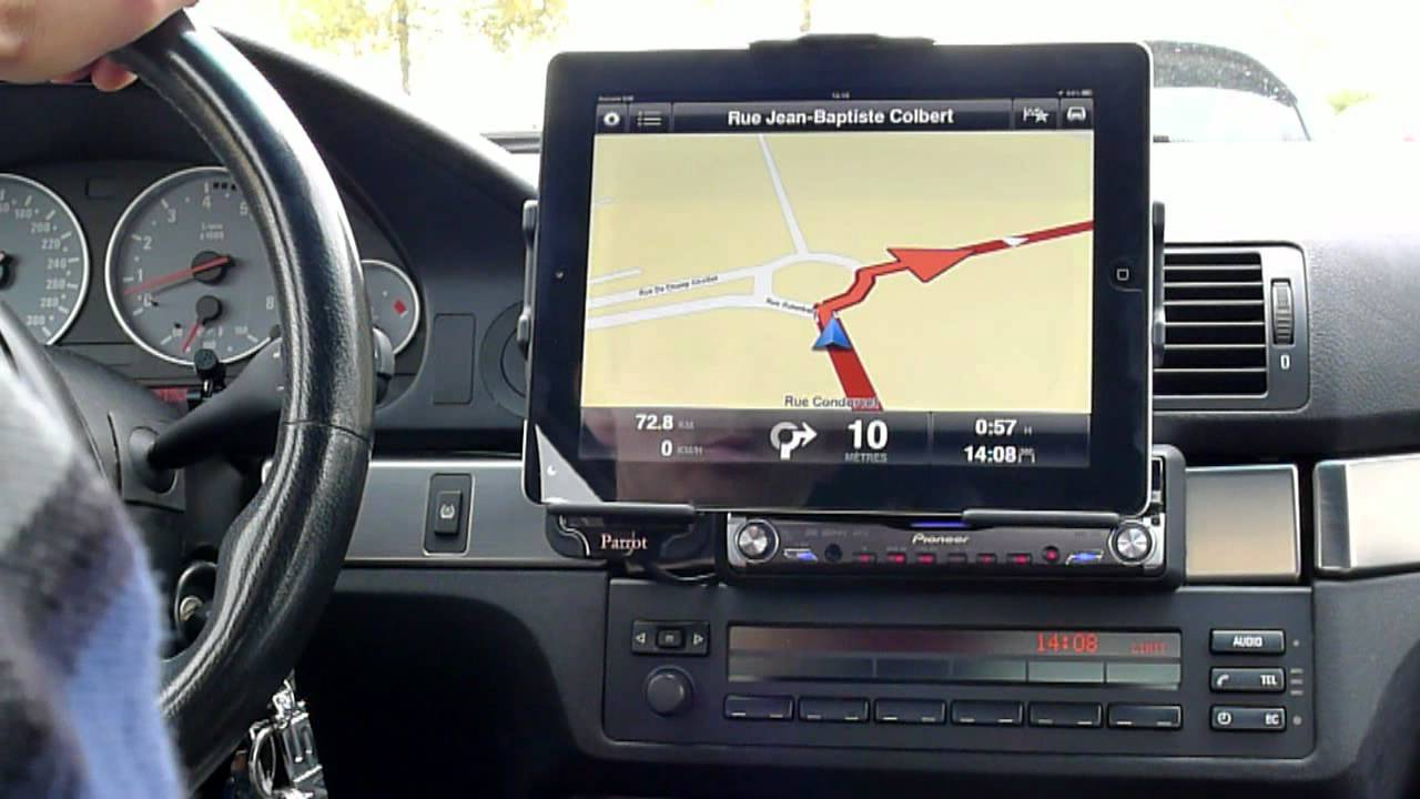 support voiture ipad avec tomtom youtube. Black Bedroom Furniture Sets. Home Design Ideas
