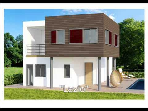 Case in legno modelli case prefabbricate in legno youtube for Modelli e piani di case
