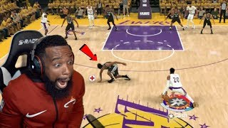 Lakers vs Spurs Playoff Elimination Game! I Broke His Ankles!