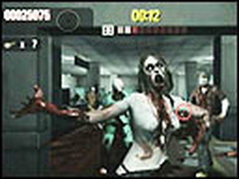 Classic Game Room HD - HOUSE OF THE DEAD OVERKILL on Wii pt2