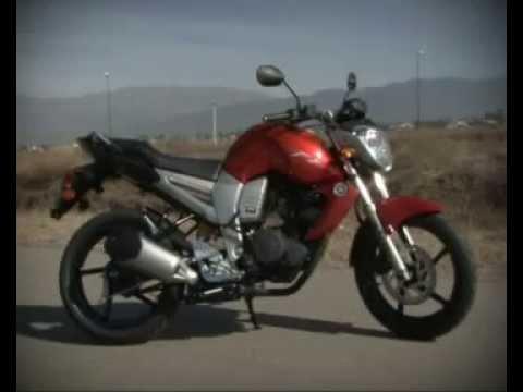 Moto Yamaha FZ16 Test Drive
