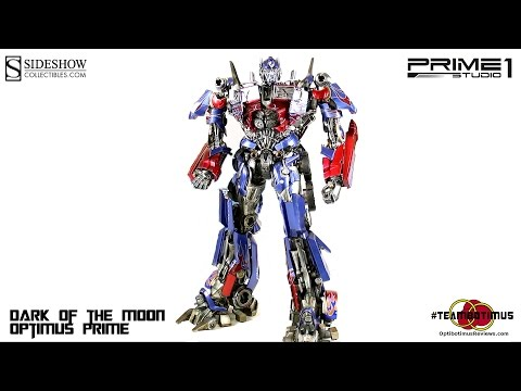 Video Review of the Prime 1 Studios: Dark of the Moon Optimus Prime Statue