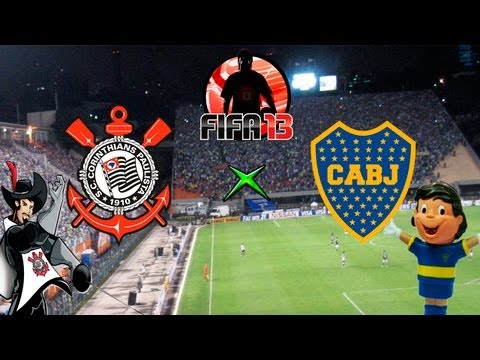 Fifa 13 - Boca Juniors x Corinthians - Melhores Momentos - 01-05-13