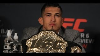 Anthony Pettis Gets Called Out During Press Conference (UFC 181 Post Press Conference)
