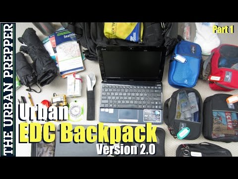 Urban EDC Backpack (Part 1)
