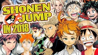Shonen Jump In 2018 Retrospective