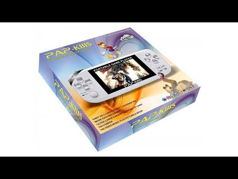 64 Bit PAP K3S Handheld Game COnsole Unboxing & Review
