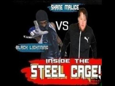 Phoenix Pro Wrestling Steel Cage Match, Black Lightning Vs Shane Malice