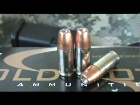 Speer Gold Dot 9mm 115 grain +P+ Shooting Review
