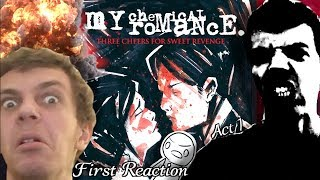 Download Lagu First Reaction to My Chemical Romance - Three Cheers For Sweet Revenge (Part 1) ft. NateIsLame Gratis STAFABAND