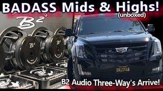 BADASS Mids & Highs Arrive! B2 Audio Ref 6.3 Three-Ways - Cadillac Escalade System Install Video 3