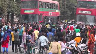 ICC World Cup T20 2014, Flash MOB, Dept  of Geology, University of Dhaka   YouTube