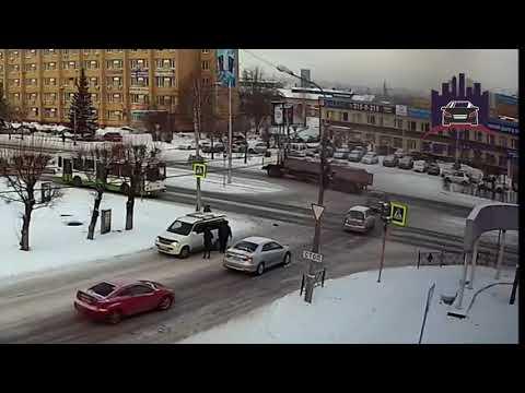 Красноярский рабочий - Затонская 13.12.2017