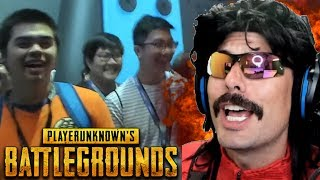 DrDisRespect's Highest KiII Game on PUBG while LIVE at PAX!