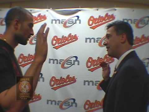 Nick Markakis Induction to AHEPA Video