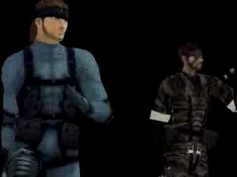 [MMD] GLIDE Solid Snake MGS
