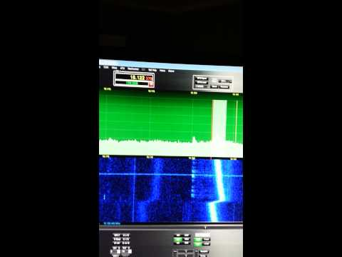 Flex 3000 SDR Strange Transmission on 17 meters ham radio