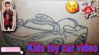 My baby boy birthday gift kids toy car video small demo    piyali' channel Indian food life   2019  