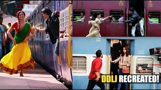 When Bollywood recreated the iconic DDLJ train scene | Latest Bollywood News | Bollywood Movies