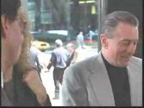 Robert De Niro Selling a car