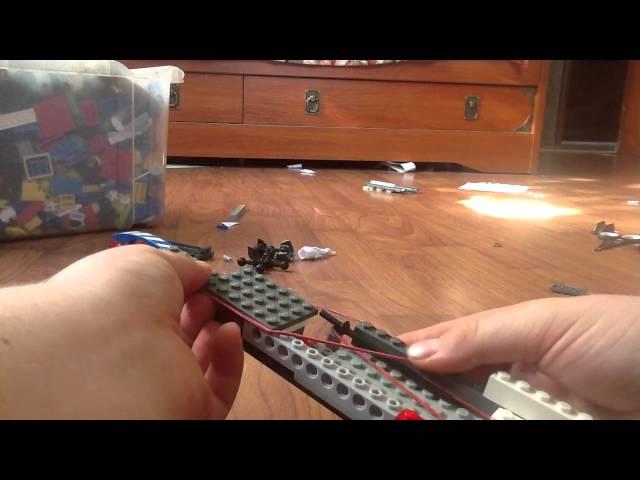 Как сделать автомат стреляющий резинками из лего - Njkmznnb.ru