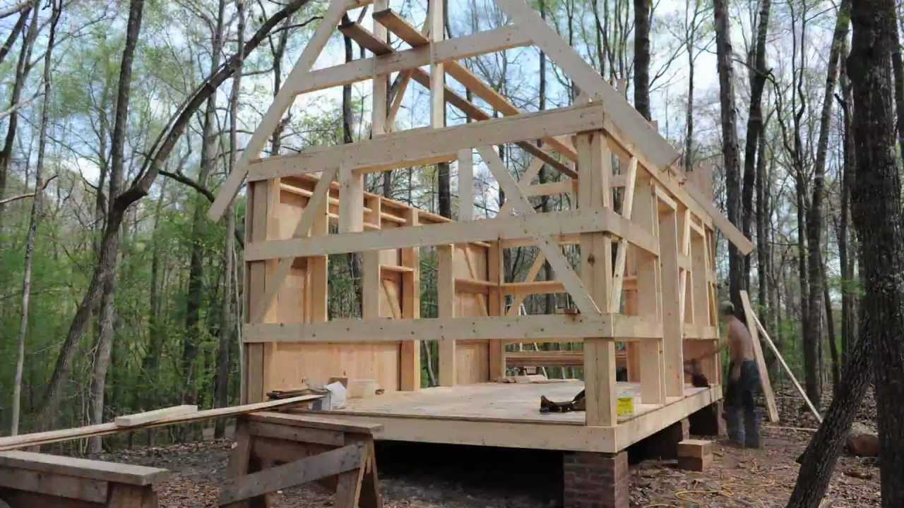 Building Our Cabin - YouTube