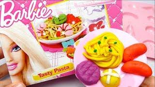 Barbie Spaghetti Kitchen Set Play Doh DIY Tasty Pasta
