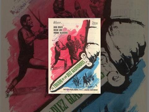 Триумф десяти гладиаторов (1964) фильм