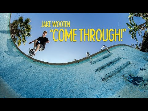 """Traveling Skater JAKE WOOTEN Spends A Day In Long Beach 