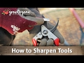 How to Sharpen Tools -- Pruners, Loppers, Shovels and More!