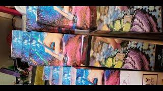 Diamond Art Club HAUL!!!  Unveiling 3 NEW Paintings, plus 8 MORE