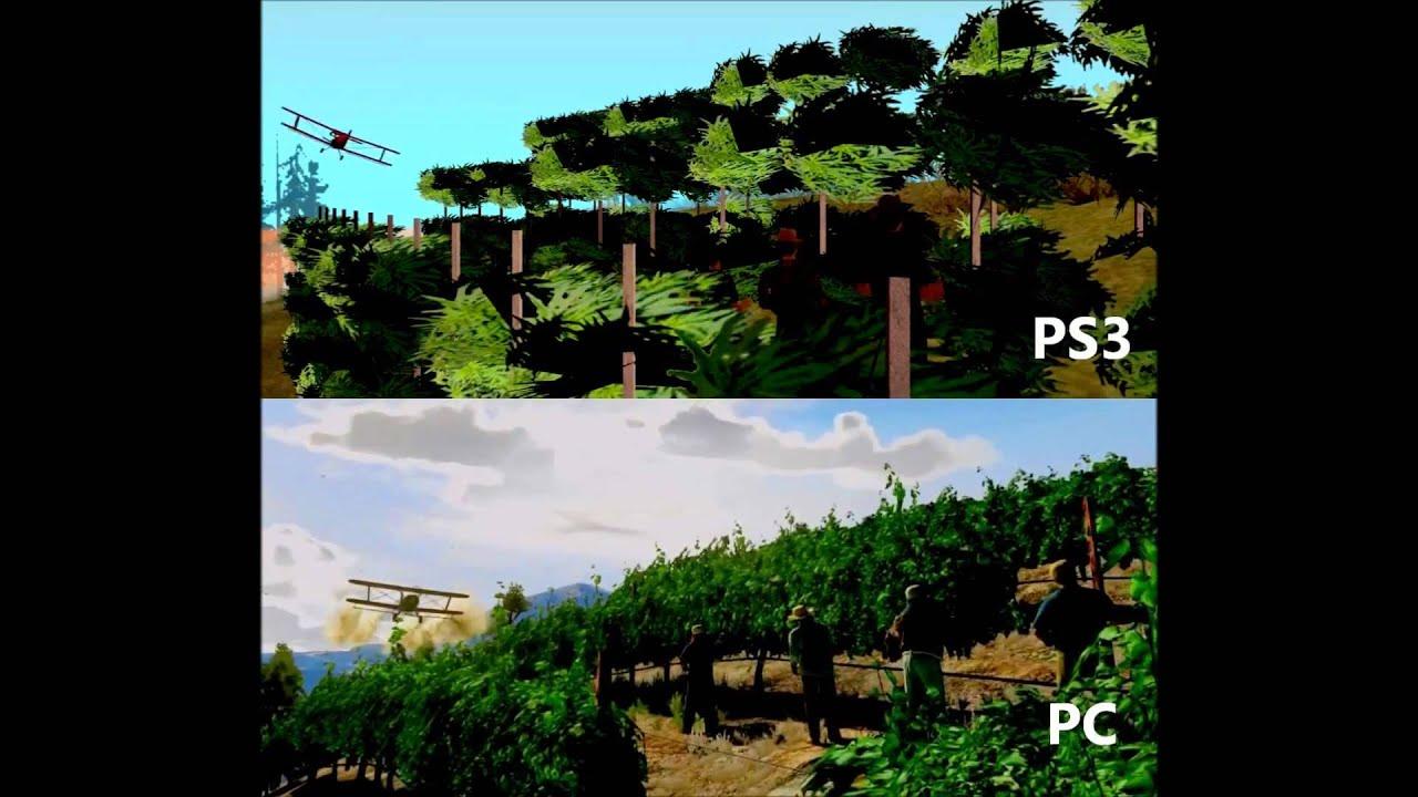 Gta 5 Gameplay Gta 5 Gameplay pc vs Ps3