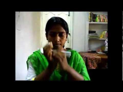 Ek Pyar Ka Nagma Hai on mouthorgan by Haimanti Karmakar