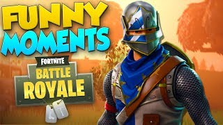 Fortnite Battle Royale Funny Moments - Team-Slaying, Dancing, Epic Win!