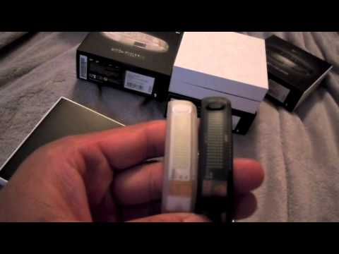 ALL COLORS NIKE+ FUELBAND UNBOXING &amp; COMPARISON (nike plus fuel band icy white, icy black, &amp; black)