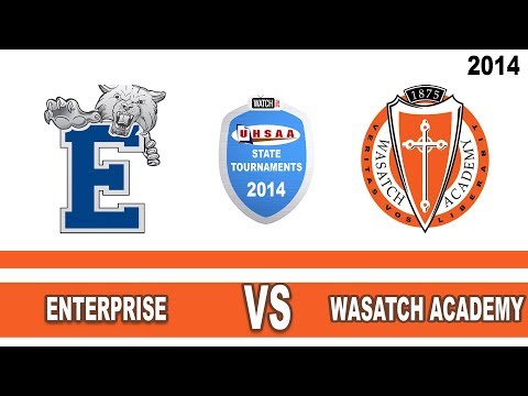 2A Boys Basketball: Enterprise vs Wasatch Academy Utah High School State Tournament 3/1/14