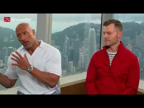 Interview Dwayne Johnson & Rawson Marshall Thurber SKYSCRAPER