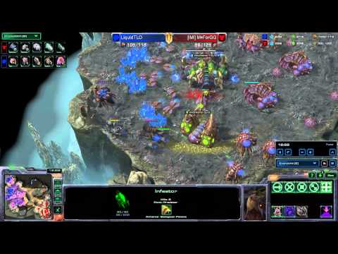 HD Starcraft 2 TLO v ForGG ZvT Heart of the Swarm
