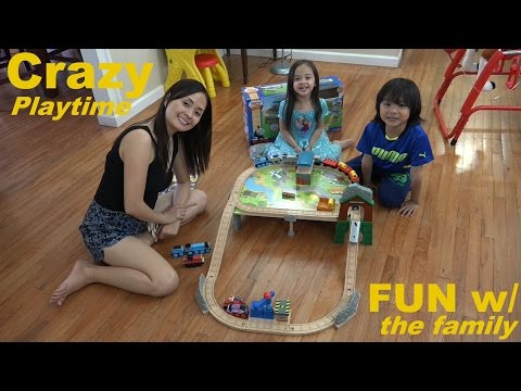 Thomas & Friends Wooden Railway: Mountaintop Supply Run Set Playtime W  The Kids video