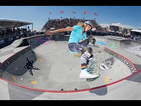2nd Place Run, Bryce Wettstein 83.43 | Huntington Beach, 2017 Pro Tour | Vans Park Series