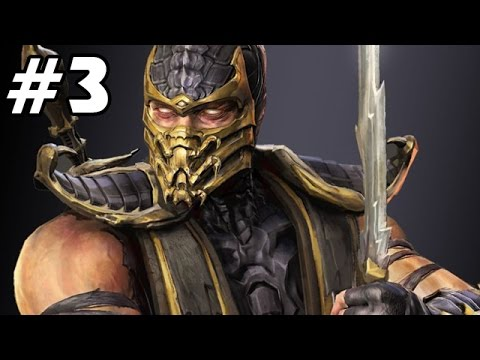 Let's Play Mortal Kombat 9 Story Mode Deutsch #03 - Scorpion