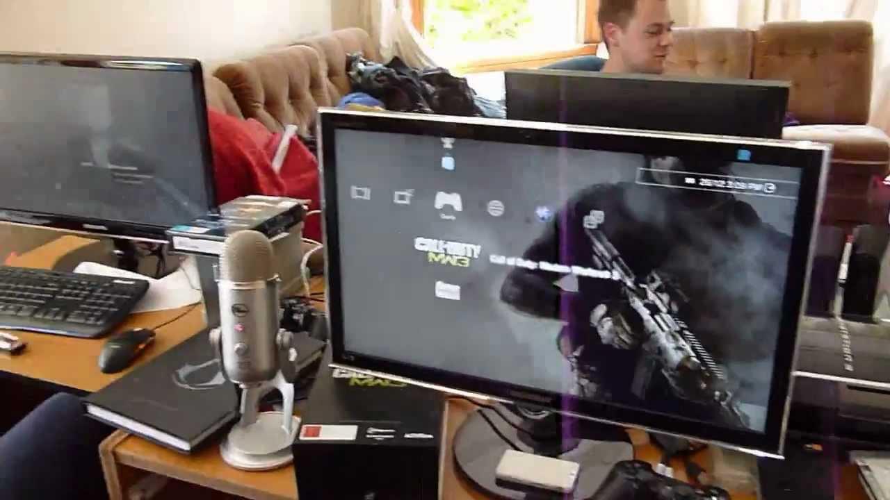 Epic Man Cave Tv Show : Epic gaming setup man cave youtube