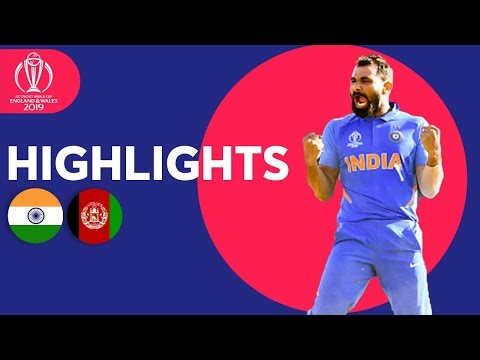 Afghanistan SO Close To Upset! | India v Afghanistan - Match Highlights | ICC Cricket World Cup 2019