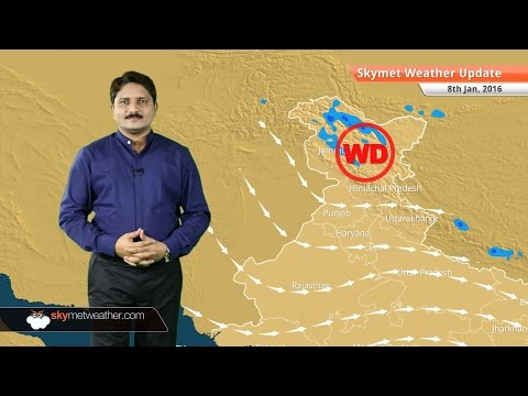 Weather Forecast for January 8: Rain and snow in north India, winter chill over the plains