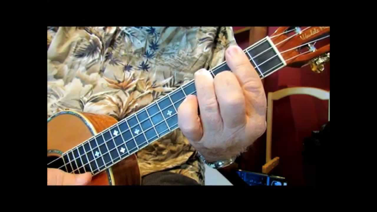 MOVEABLE CHORDS - A Ukulele Tutorial by UKULELE MIKE LYNCH - YouTube
