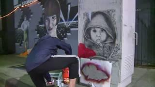 LAUSD Street Art by TEACHR1 / Hollywood  1.14.19