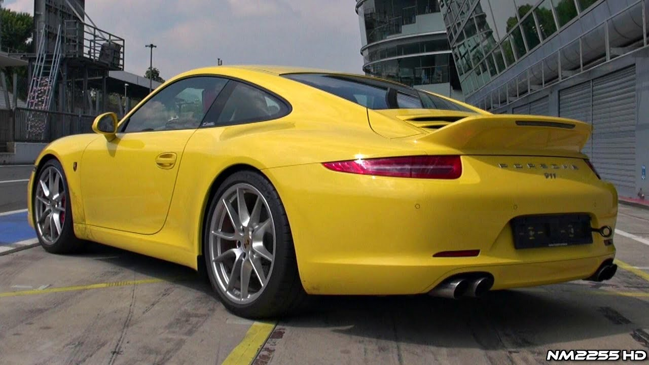 Porsche 991 Carrera S Sport Design Exhaust Sound Youtube